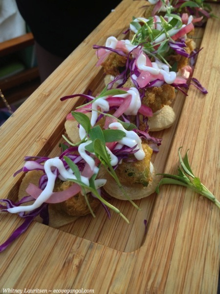 battered avocado tacos  ecovegangal four seasons
