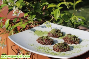 Raw Chocolate Matcha Truffles Recipe