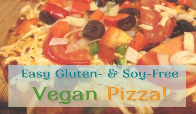 Easy Gluten & Soy-Free Vegan Pizza
