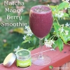 Matcha Mango Berry Smoothie Recipe