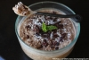 Mint Chocolate Coconut Tapioca Pudding