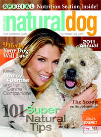 Vegan Dog Interview in Natural Dog Magazine