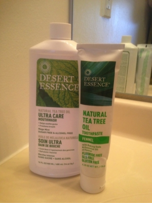 Get Fresher Breath and Whiter Teeth Using Desert Essence's Toothpaste and Mouthwash