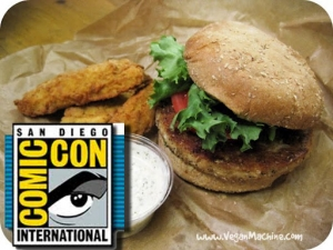 Veg Options in San Diego For Comic Con