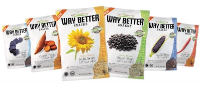 Healthy Snacks from Way Better - Sprouted Tortilla Chips (video)