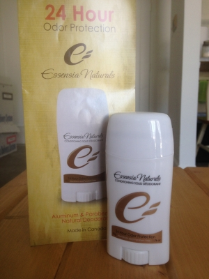 Review: Essensia Naturals' Conditioning Solid Deodorant