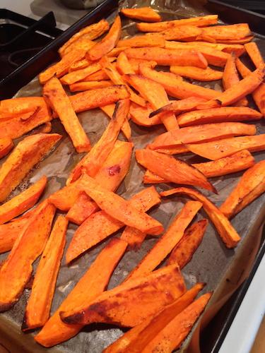 Superfoods For Life  Sweet Potato Fries Amanda Shea Eco Vegan Gal
