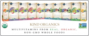 Kind Organics: Real, Good Food in a Multivitamin
