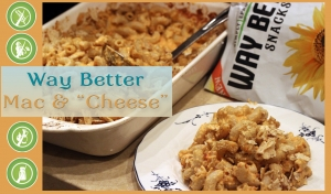 "Way Better Baked Mac 'n' ""Cheese"" (video)"