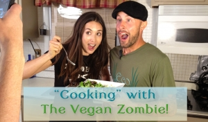 Easy & Delicious Raw Salad With The Vegan Zombie