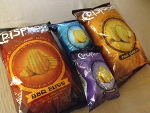 Mix Up Snack Time With a Bag of CrispRoot Cassava Chips