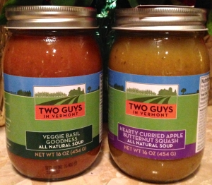 Two Guys in Vermont Soup Review: Veggie Basil Goodness and Hearty Curried Apple Butternut Squash